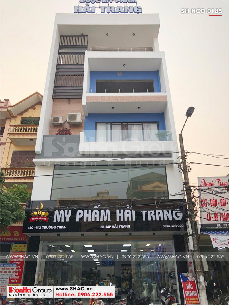 Thiết kế nhà phố hiện đại kết hợp kinh doanh 5 tầng tại Hà Nam – SH NOD 0185 10
