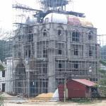 1 Ảnh thực tế thi công biệt thự lâu đài đẹp tại lạng sơn sh btld 0036