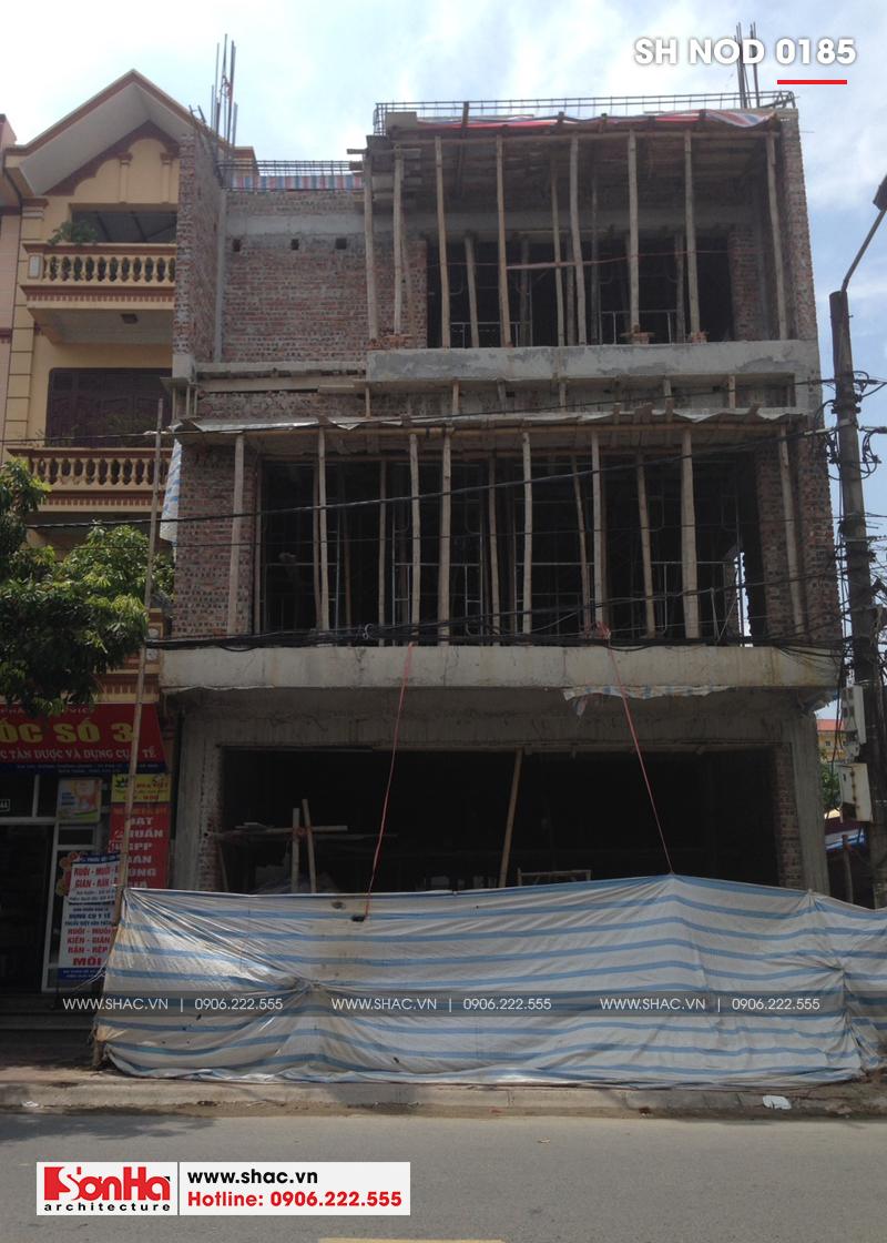 Thiết kế nhà phố hiện đại kết hợp kinh doanh 5 tầng tại Hà Nam – SH NOD 0185 16