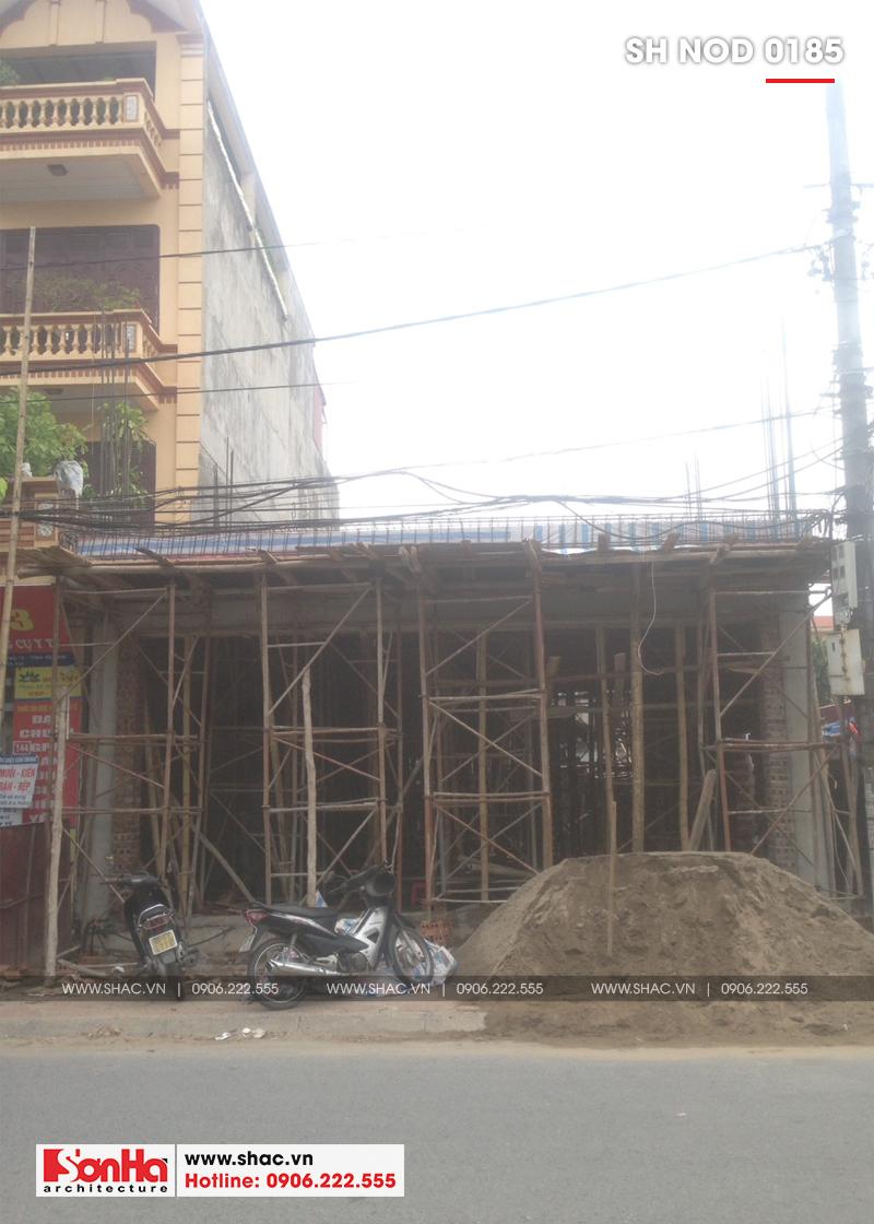 Thiết kế nhà phố hiện đại kết hợp kinh doanh 5 tầng tại Hà Nam – SH NOD 0185 19