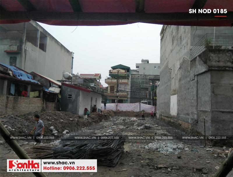 Thiết kế nhà phố hiện đại kết hợp kinh doanh 5 tầng tại Hà Nam – SH NOD 0185 25