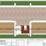 10 Mặt bằng công năng tầng tum biệt thự mái thái 3 tầng tại hưng yên sh btp 0122