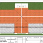 11 Mặt bằng công năng tầng mái biệt thự pháp 2 mặt tiền tại hưng yên sh btp 0122