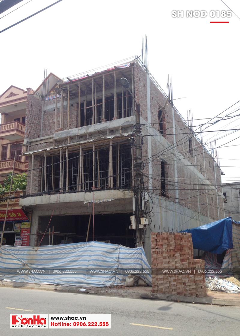 Thiết kế nhà phố hiện đại kết hợp kinh doanh 5 tầng tại Hà Nam – SH NOD 0185 17