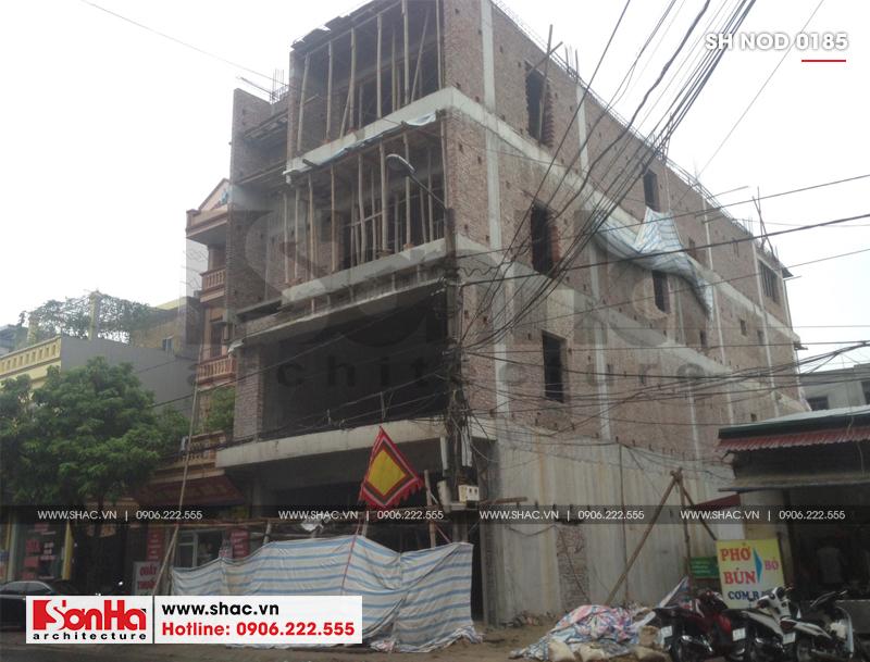 Thiết kế nhà phố hiện đại kết hợp kinh doanh 5 tầng tại Hà Nam – SH NOD 0185 15