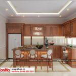 2 Mẫu nội thất phòng bếp ăn nhà ống kiến trúc pháp 4 tầng tại sài gòn sh nop 0165