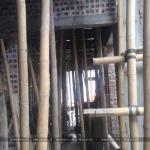 3 Ảnh thực tế thi công nhà ống hiện đại 5 tầng tại hà nam sh nod 0185