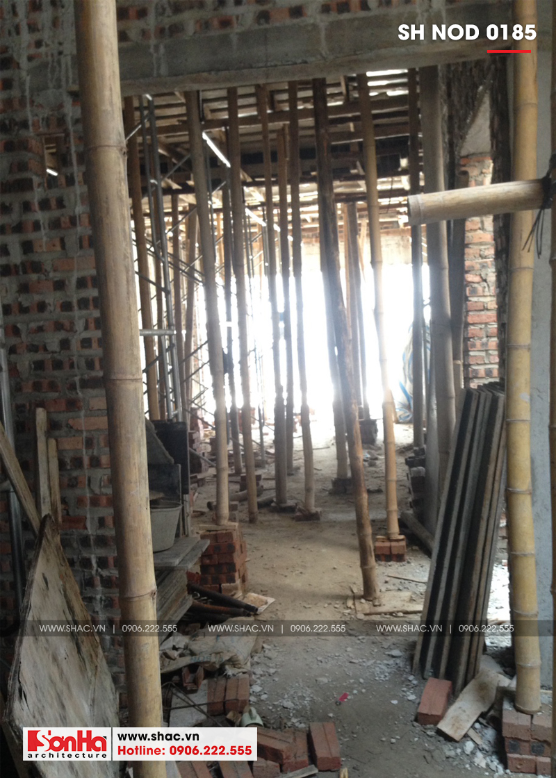 Thiết kế nhà phố hiện đại kết hợp kinh doanh 5 tầng tại Hà Nam – SH NOD 0185 29
