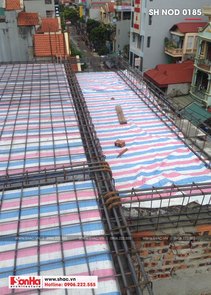 Thiết kế nhà phố hiện đại kết hợp kinh doanh 5 tầng tại Hà Nam – SH NOD 0185 31