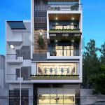 3 Kiến trúc mặt tiền nhà phố hiện đại tại hà nam sh nod 0185