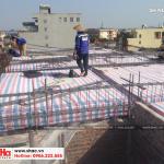 4 Ảnh thực tế thi công nhà ống hiện đại tại hà nam sh nod 0185