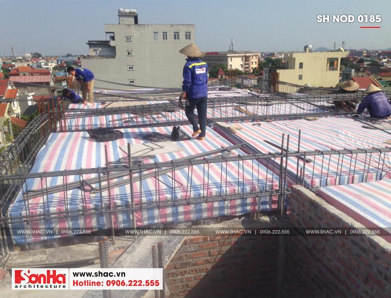 Thiết kế nhà phố hiện đại kết hợp kinh doanh 5 tầng tại Hà Nam – SH NOD 0185 32