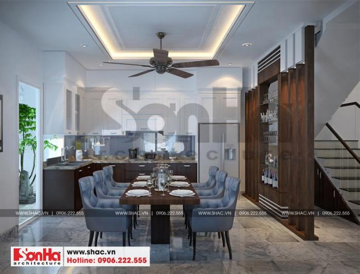 4 Mẫu nội thất phòng bếp ăn nhà ống hiện đại đẹp tại hải phòng sh nod 0187