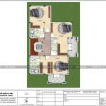 5 Mặt bằng công năng tầng 2 biệt thự pháp 2 mặt tiền tại hải phòng sh btp 0121