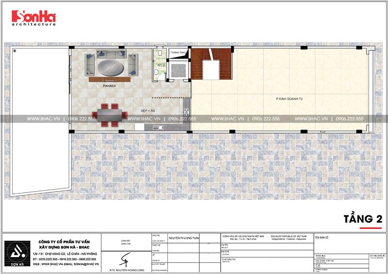Thiết kế nhà phố hiện đại kết hợp kinh doanh 5 tầng tại Hà Nam – SH NOD 0185 5