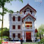 5 Thiết kế biệt thự pháp có sân vườn đẹp tại hưng yên sh btp 0122