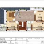 6 Mặt bằng công năng tầng 2 biệt thự mái thái đẹp tại hải phòng sh btd 0065