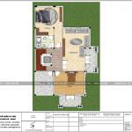6 Mặt bằng công năng tầng 3 biệt thự pháp đẹp tại hải phòng sh btp 0121