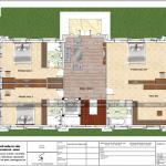 8 Mặt bằng công năng tầng 2 biệt thự mái thái 3 tầng tại hưng yên sh btp 0122