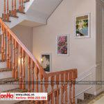 8 Mẫu nội thất sảnh thang nhà ống cổ điển 4 tầng tại sài gòn sh nop 0165