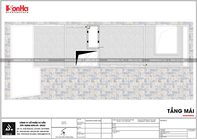 Thiết kế nhà phố hiện đại kết hợp kinh doanh 5 tầng tại Hà Nam – SH NOD 0185 9