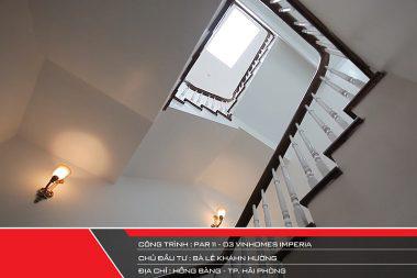 Không gian nhà đẹp số 12 - Nội thất biệt thự Paris 11-03 Vinhomes Imperia xa hoa với tone màu trắng chủ đạo 1