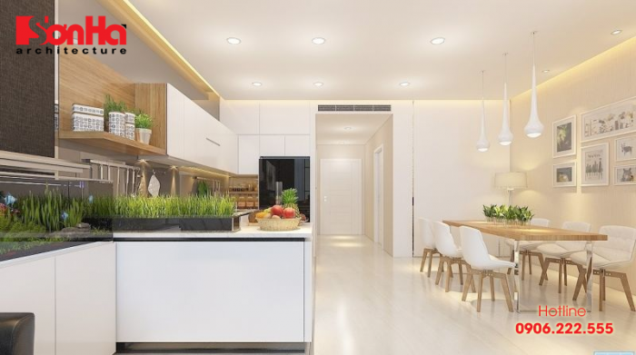 Chiêm ngưỡng vẻ đẹp hợp thời của không gian phòng bếp hiện đại