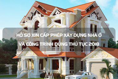 Hồ sơ xin cấp phép xây dựng nhà ở và công trình đúng thủ tục [current_year] 3