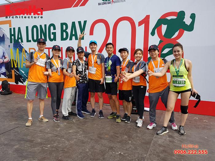 KTS Sơn Hà Architecture tham gia Ha Long Bay Marathon 2018 góp từ thiện (12)