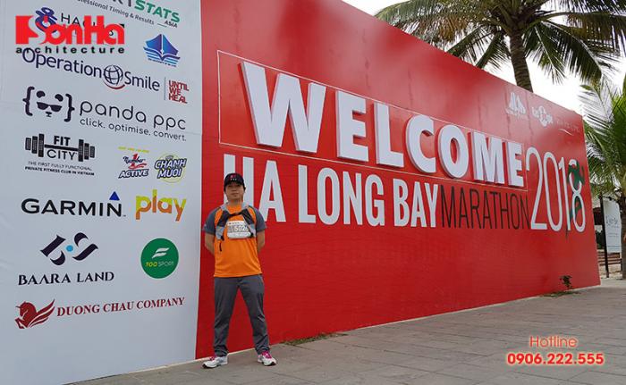 KTS Sơn Hà Architecture tham gia Ha Long Bay Marathon 2018 góp từ thiện (2)