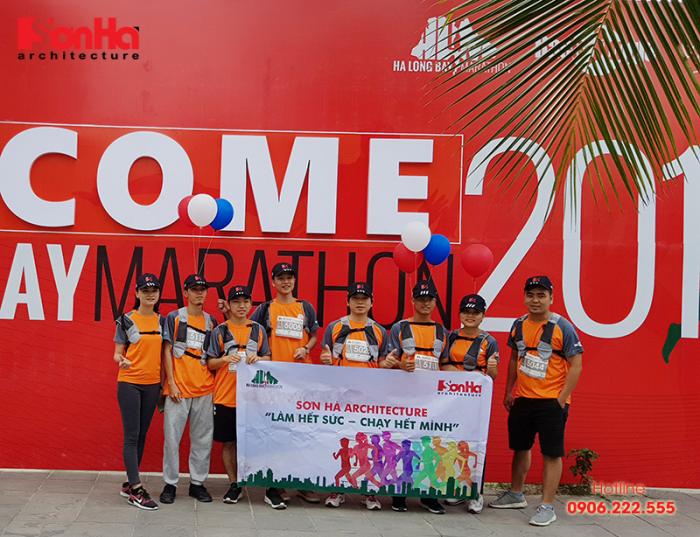 KTS Sơn Hà Architecture tham gia Ha Long Bay Marathon 2018 góp từ thiện (3)