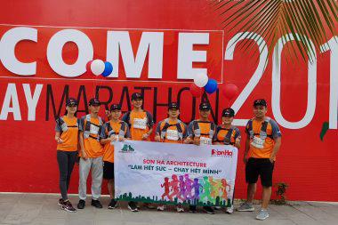 KTS Sơn Hà Architecture tham gia Ha Long Bay Marathon 2018 góp từ thiện 18