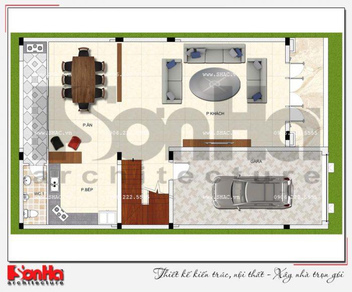 Tham khảo giải pháp thiết kế gara oto trong nhà