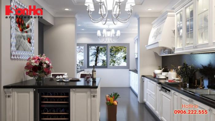 Thêm một thiết kế phòng bếp ăn phong cách hiện đại để bạn tham khảo