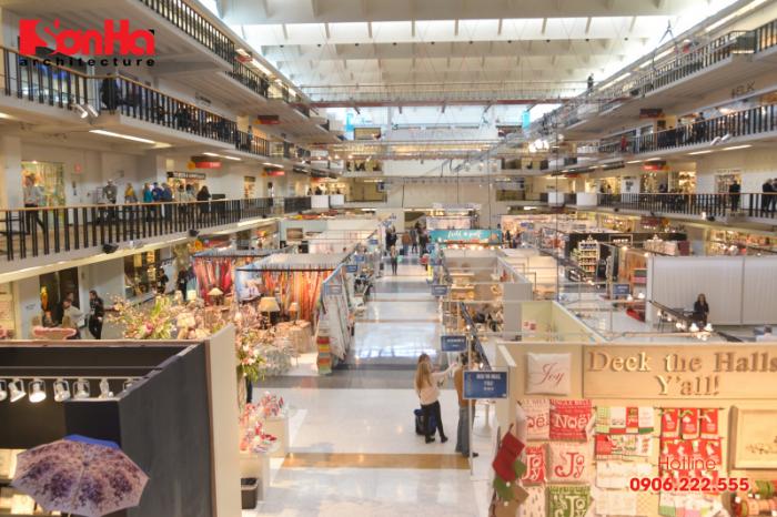 Tiêu chuẩn thiết kế siêu thị trung tâm thương mại mới nhất (1)