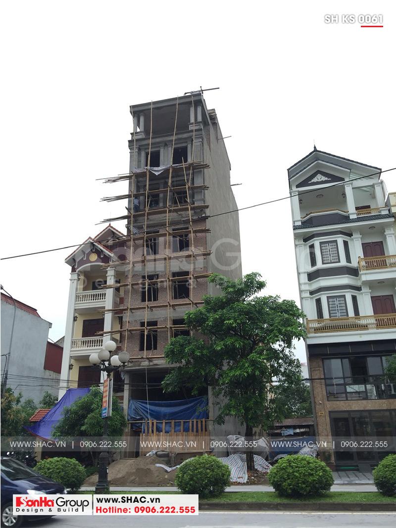 Thiết kế khách sạn mini 2 sao tân cổ điển đẹp tại Nam Định - SH KS 0061 19
