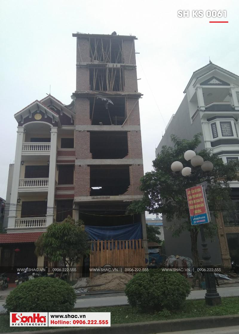 Thiết kế khách sạn mini 2 sao tân cổ điển đẹp tại Nam Định - SH KS 0061 20