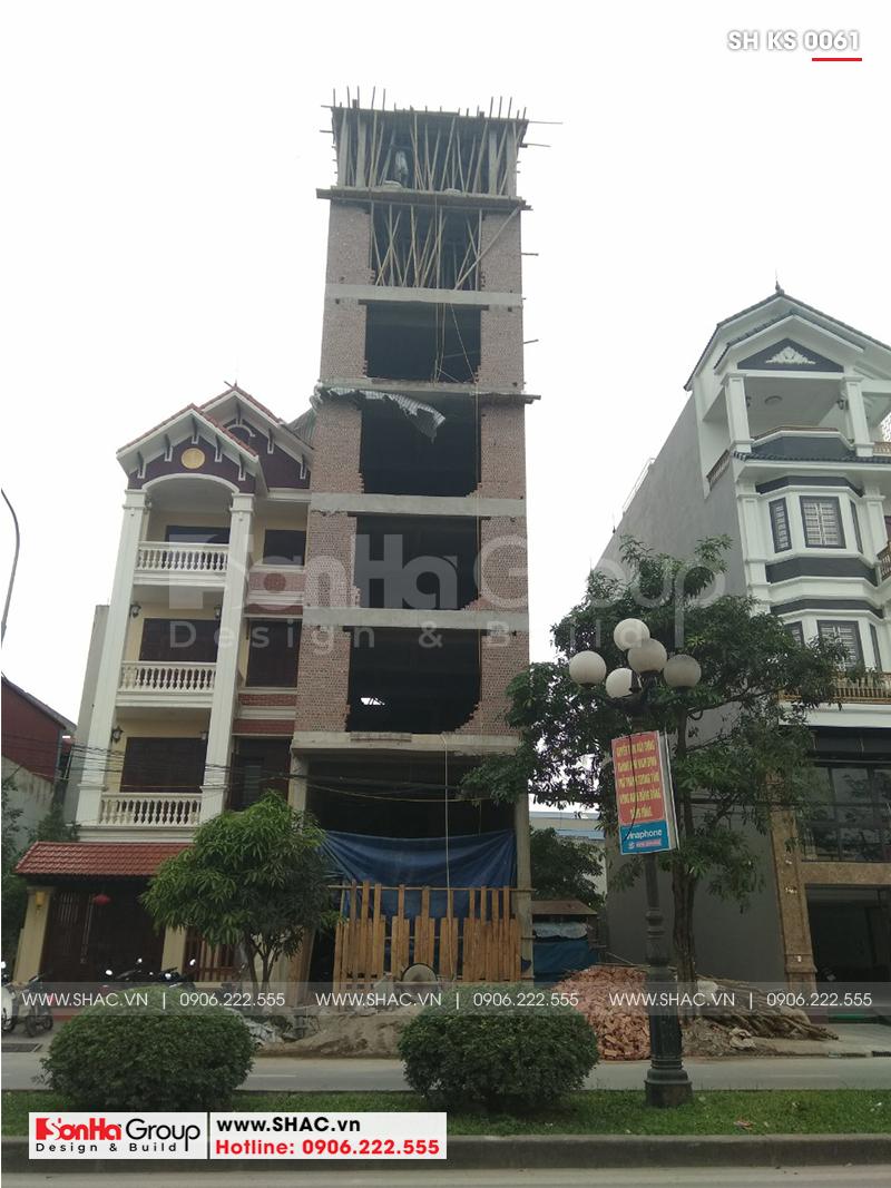 Thiết kế khách sạn mini 2 sao tân cổ điển đẹp tại Nam Định - SH KS 0061 21