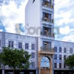 1 Thiết kế nhà ống hình chữ l kiến trúc pháp tại hà nội sh nop 0168