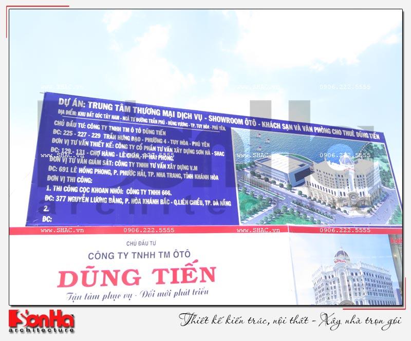Tỉnh Phú Yên động thổ thêm một dự án trọng điểm của năm – dự án Trung tâm TMDV ô tô, khách sạn và văn phòng cho thuê Dũng Tiến do Sơn Hà Architecture thiết kế – SH KS 0062 16