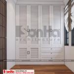 10 Mẫu nội thất khu thay đồ phòng ngủ 3 biệt thự tân cổ điển khu đô thị vinhomes hải phòng vhi 0001