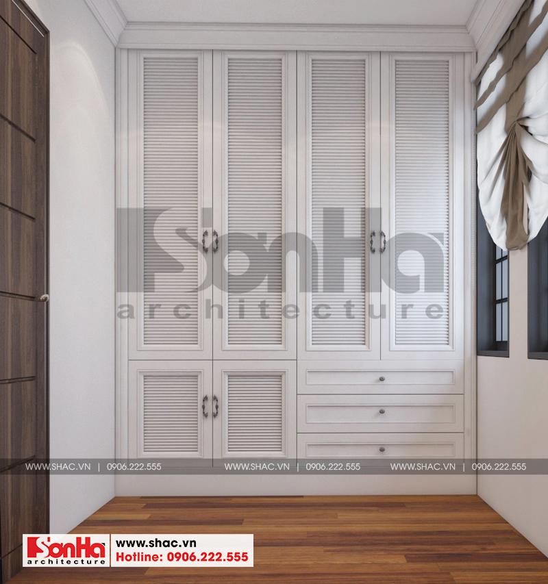 Thiết kế nội thất biệt thự đơn lập Vinhomes Imperia phong cách tân cổ điển 10