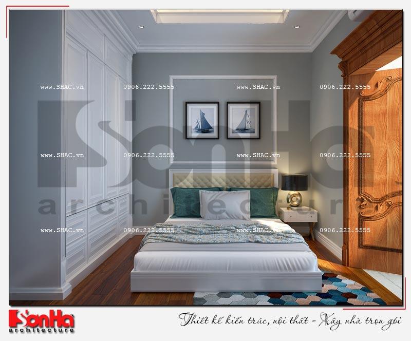 Cách sử dụng gỗ tự nhiên trong thiết kế nội thất biệt thự Vinhomes Imperia Hải Phòng 9