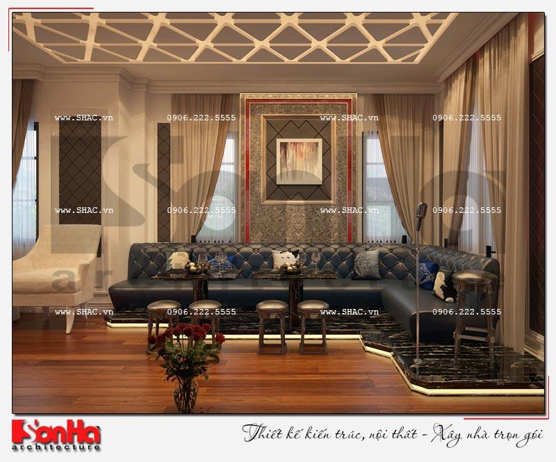 Cách sử dụng gỗ tự nhiên trong thiết kế nội thất biệt thự Vinhomes Imperia Hải Phòng 13