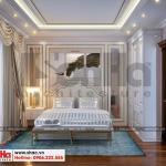 11 Thiết kế nội thất phòng ngủ 5 biệt thự tân cổ điển khu đô thị vinhomes hải phòng sh btp 0125