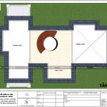 12 Mặt bằng công năng tầng áp mái biệt thự 3 tầng đẹp khu đô thị vinhomes hải phòng sh btp 0125