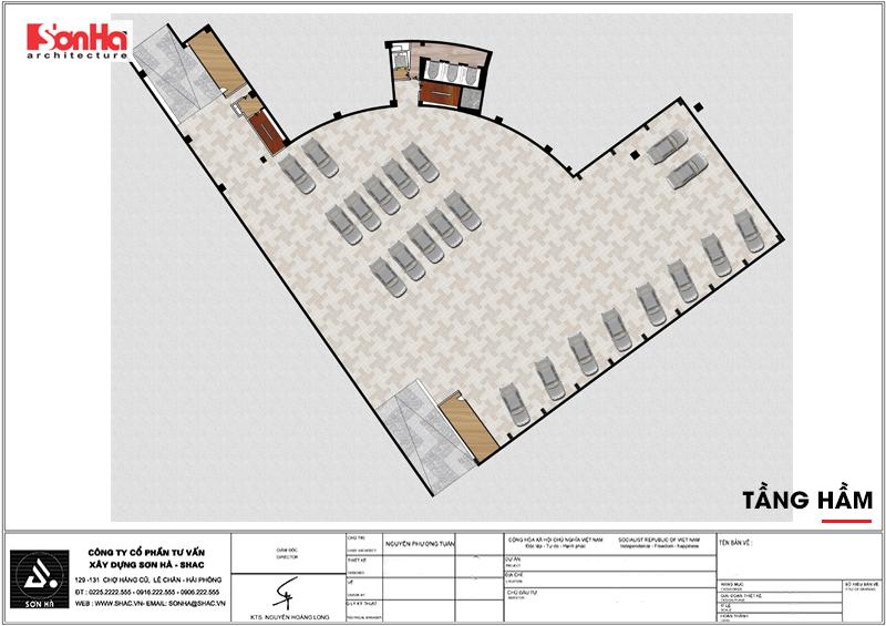 Tỉnh Phú Yên động thổ thêm một dự án trọng điểm của năm – dự án Trung tâm TMDV ô tô, khách sạn và văn phòng cho thuê Dũng Tiến do Sơn Hà Architecture thiết kế – SH KS 0062 9