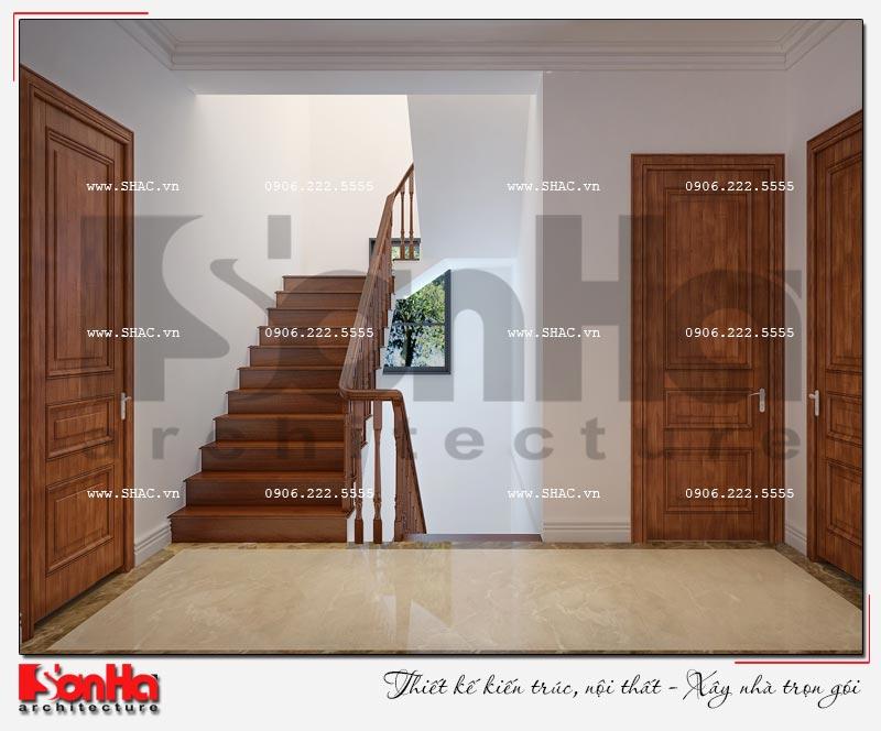 Cách sử dụng gỗ tự nhiên trong thiết kế nội thất biệt thự Vinhomes Imperia Hải Phòng 14