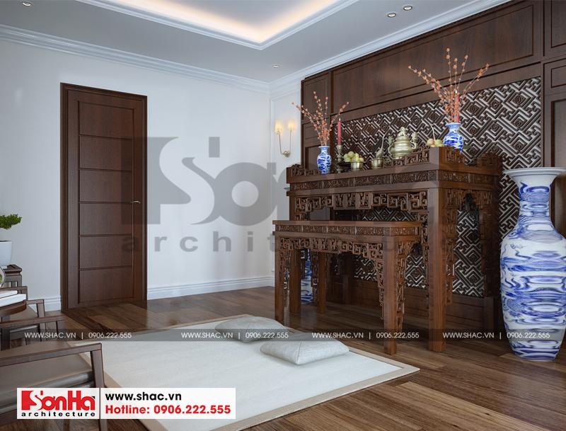Thiết kế nội thất biệt thự đơn lập Vinhomes Imperia phong cách tân cổ điển 14