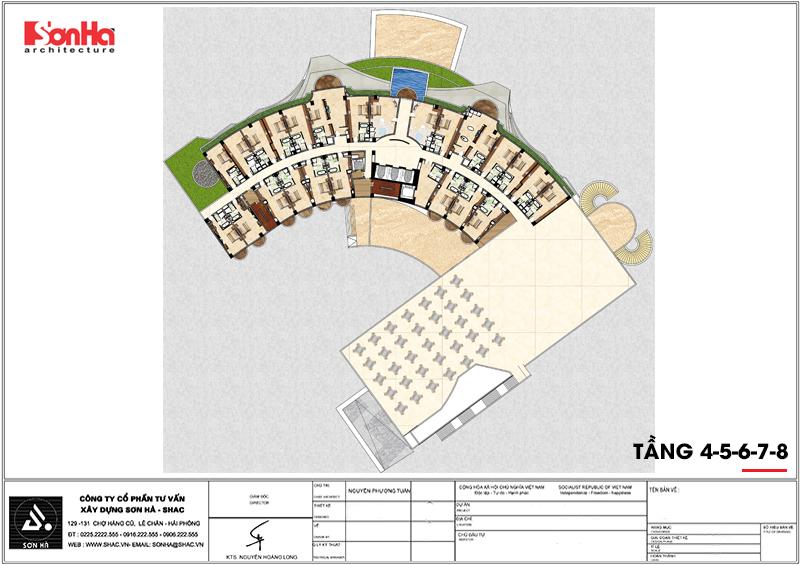 Tỉnh Phú Yên động thổ thêm một dự án trọng điểm của năm – dự án Trung tâm TMDV ô tô, khách sạn và văn phòng cho thuê Dũng Tiến do Sơn Hà Architecture thiết kế – SH KS 0062 13